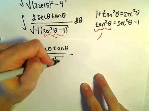 Trigonometric Substitutions - More Examples