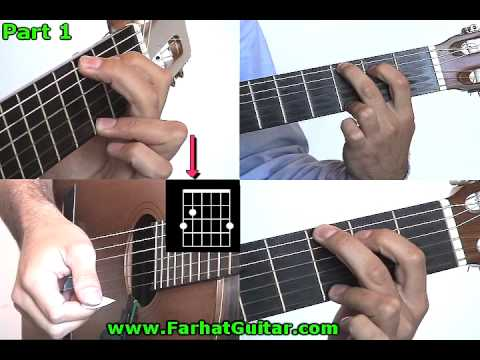 Yellow submarine Beatles Guitar lesson Part 4  www.FarhatGuitar.com