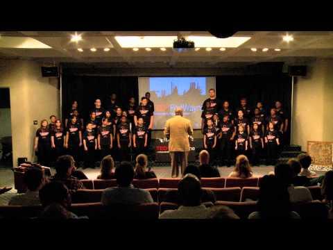 TEDxFortWayne   Voices of Unity USA Choir Olympic Team   Music Performance