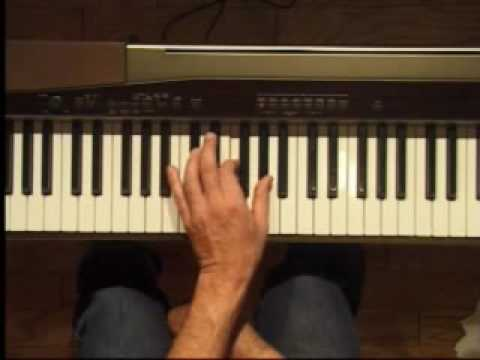 Piano Lesson - C#/Db Major Triad Inversions (Left Hand)