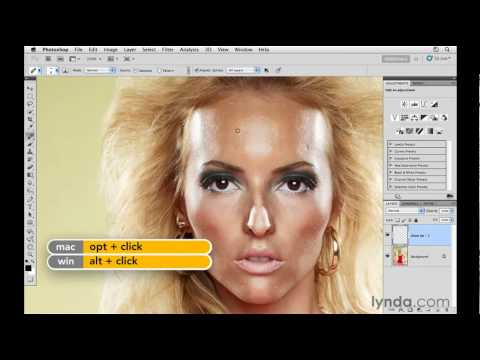 Photoshop: Improving skin with the Healing Brush | lynda.com tutorial