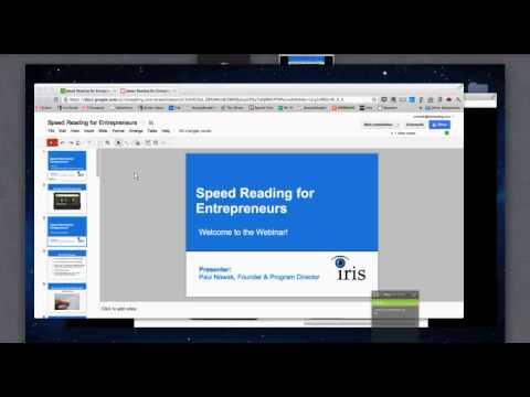 Speed Reading for Entrepreneurs