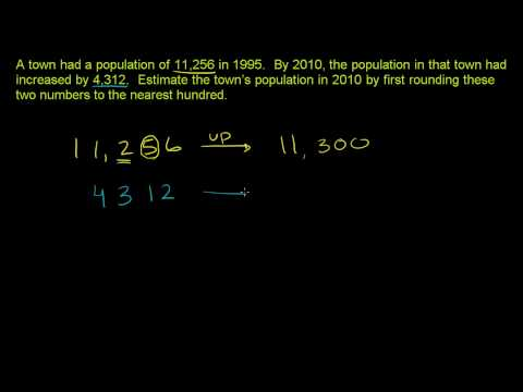 Rounding to Estimate Sums 2