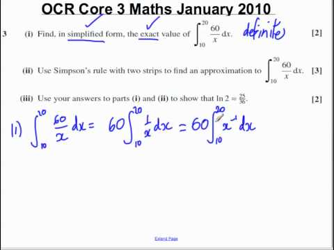 Q3(i) Core 3 OCR Jan 2010.mp4