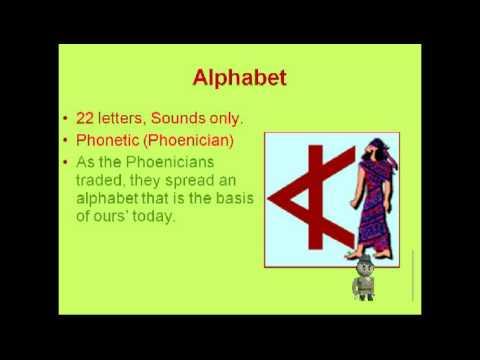Phoenician Presentation