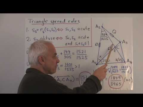 WT59: Triangle spread rules in action
