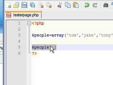 PHP Tutorial - 10 - Arrays