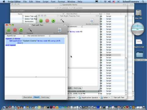 Speech Recognition For Mac Tutorial 2 - Customizing Safari (Section 2/2)