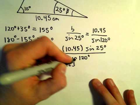 The Law of Sines, Example 2
