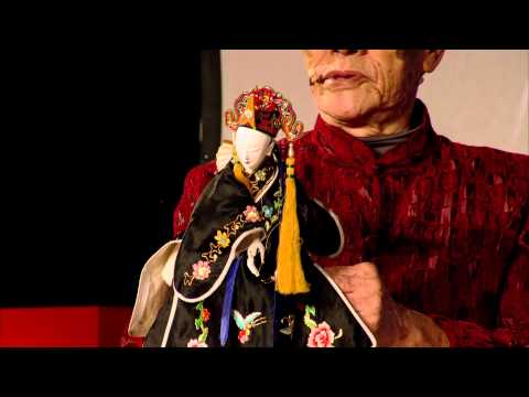 TEDxTaipei - Xi-Huang Chen (陳錫煌) - Lifelong faith in Taiwanese puppetry