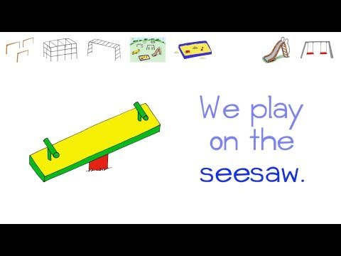 Toy Vocabulary - Playground - by ELF Learning