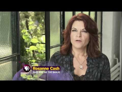 Rosanne Cash talks about her love for the banjo | PBS