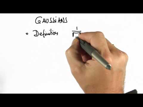Preferred Gaussian Solution - CS373 Unit 2 - Udacity
