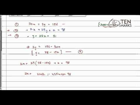 Solve Systems by Substitution