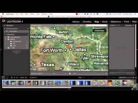 Adobe Lightroom 4 Tutorial | Geo tagging Images | InfiniteSkills