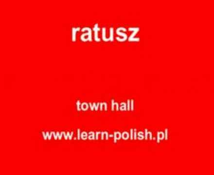 "How do you say ""town hall "" in Polish ?"