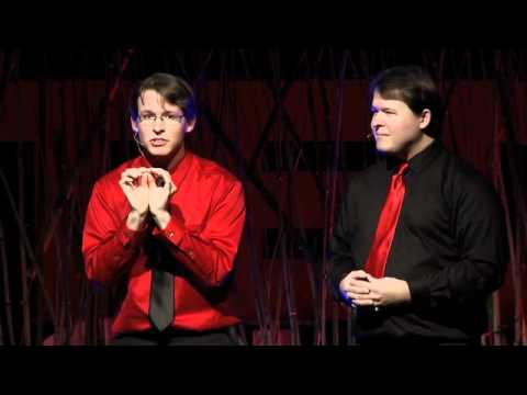 "TEDxOU - Buck & Clint Vrazel ""TwinProv"" - The Creative Flow of Improvisational Rap"