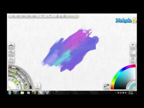 Artrage Tutorial Eyedropper  Overview