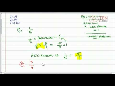 Find Reciprocals