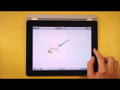 Creating a Map - iMindMap HD for iPad Quick Tips