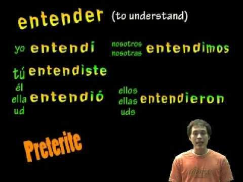 02 Spanish Lesson - Preterite Regular -ER verbs