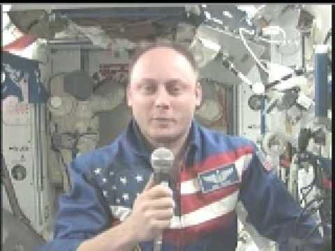 STATION COMMANDER CHEERS ON PITTSBURGH STEELERS FROM ORBIT