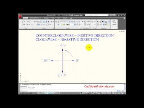 AutoCAD Tutorial - Using Polar Angles