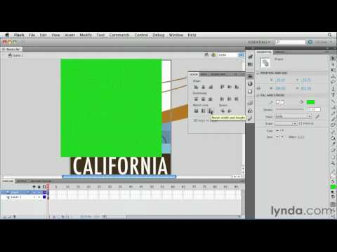 How to use layer masks in Flash | lynda.com tutorial