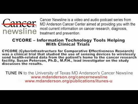 CYCORE -- Information Technology Tools Helping With Clinical Trials
