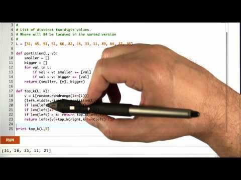 Top K Code - Algorithms - Statistics - Udacity