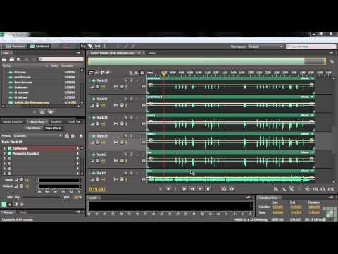 Adobe Audition CS6 Tutorial   Course Introduction   InfiniteSkills