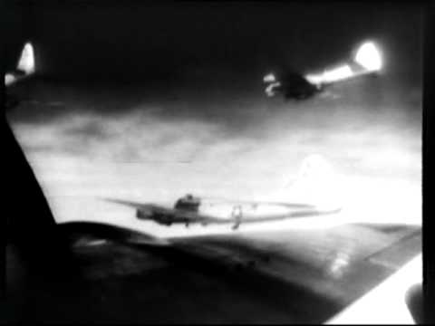 Air Smashes Devastate Germany 1945 Newsreel