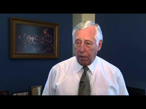U.S. Rep. Steny Hoyer recalls a less well-received Bill Clinton DNC speech