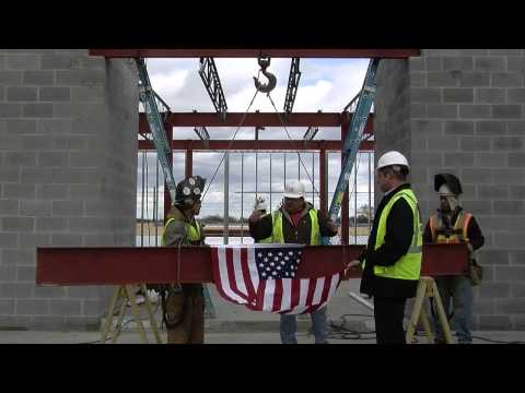 "APUS Finance Center ""Topping off"" Ceremony"