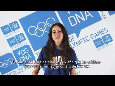 Young Ambassador - Paraguay - Maria Sofia Irala Castagnino - Singapore 2010 Youth Olympic Games