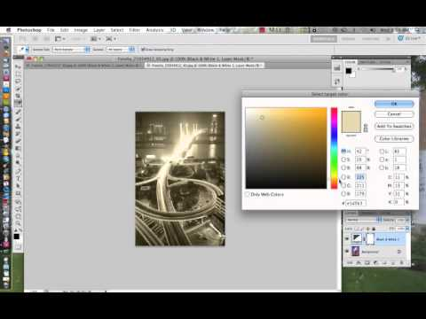 Photoshop CS5 Tutorial: The Black and White Adjustment Layer