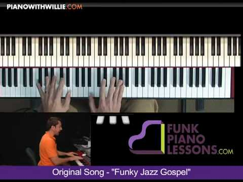 Funky Jazz Gospel - B Section Part 4
