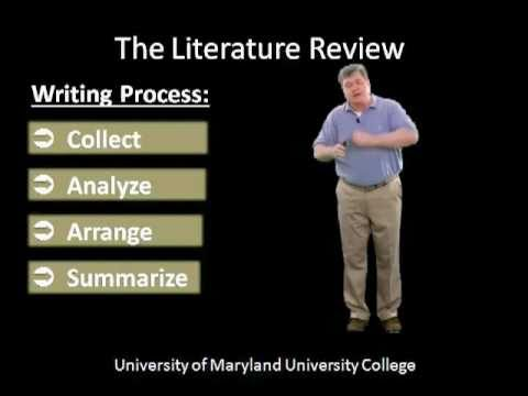 Writing the Literature Review (Part 2): Step-by-Step Tutorial for Graduate Students