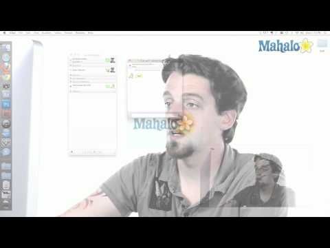 iChat - Video Chat - How to use Mac OS X Snow Leopard