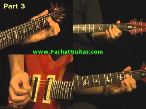 In the Flesh - Pink Floyd PArt 3 Guitar Cover   www.farhatguitar.com