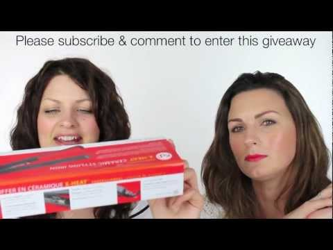 WIN HAIR STRAIGHTENERS & TONGS. SUBSCRIBE TO WIN!