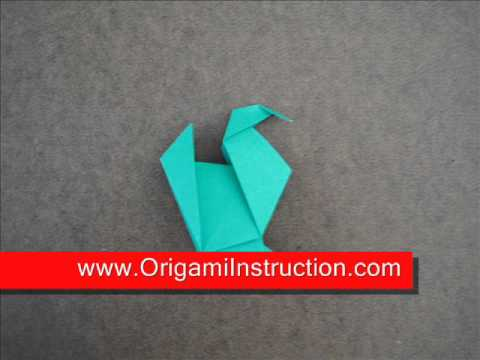 How to fold Origami Turkey - OrigamiInstruction.com