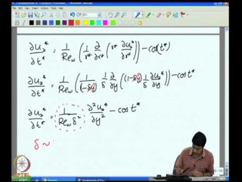 Mod-04 Lec-22 Unidirectional Transport Cylindrical Coordinates - VII
