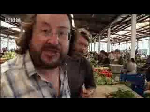 Kisses in Romania's Food Market - Hairy Bikers Cookbook - BBC