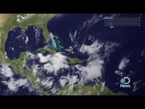 2010 Hurricane Season in 1 Minute