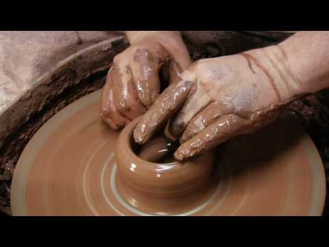 Making Pottery at Jas Townsend and Son