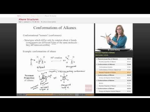 Organic Chemistry: Conformations of Alkanes