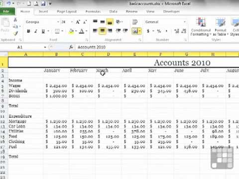 Enhancing Worksheets with Themes. MS Excel 2010 Tutorial