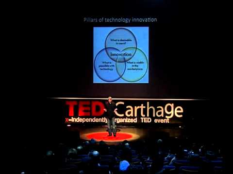 TEDxCarthage - Sami Ben Romdhane - Technology innovation opportunities in free Tunisia