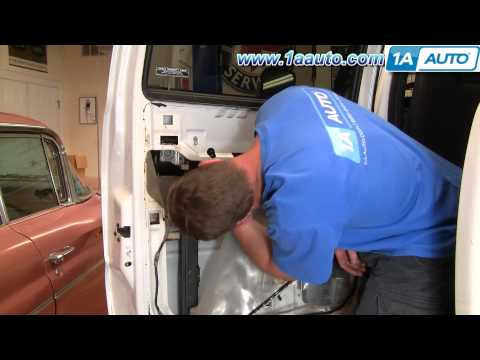 How To Install Replace Broken Rear Outside Door Handle Chevy Silverado GMC Sierra 99-02 1AAuto.com